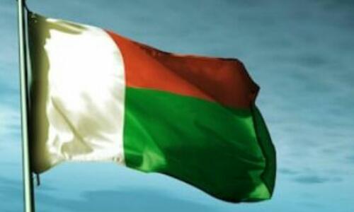 Madagascar national flag