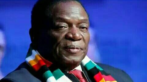 Zimbabwe President Emerson Mnangagwa