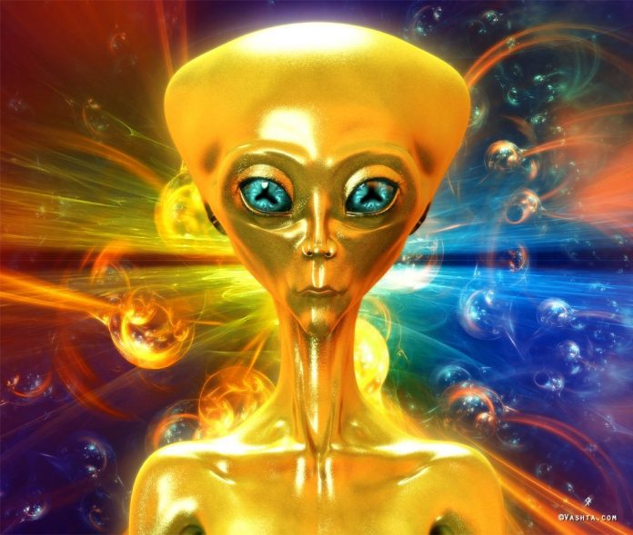 A member of the Golden Triangle Head Beings of the Galactic Federation of Light Forces in liberation of Gaia (Earth)