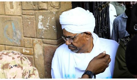 Sudan's former President Omar al-Bashir is facing corruption charges [File: Umit Bektas/Reuters]
