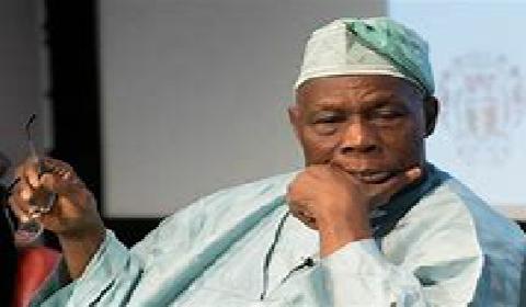 Ex president of Nigeria Mr Obasanjo