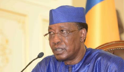 Chad president Idriss Deby. AFP
