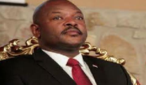 Mr Nkurunziza, sit tight president of the tiny republic of Gabon