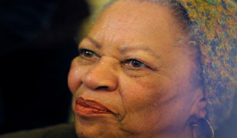 Toni Morrison African American author in her eighties