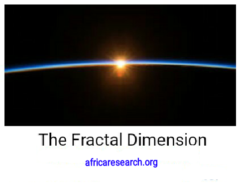 The Fractal Dimension of Africa Research Forum
