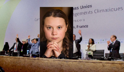 Greta Thurnberg and the climate change narrative