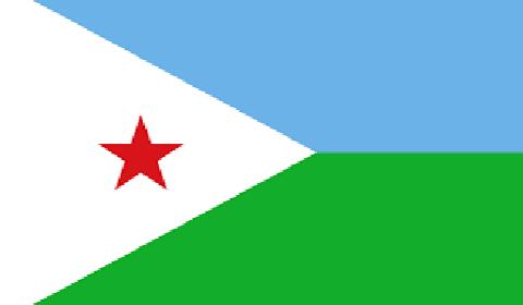 Djibouti national flag