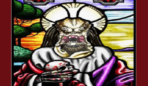 Image of virus extraterrestrial god
