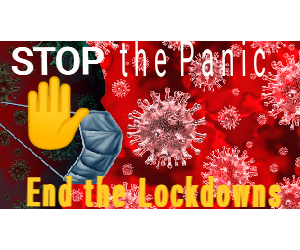 End the Lockdown campaign poster
