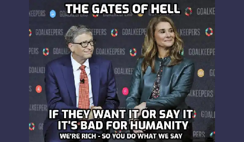 Bill Gates vaccines bad for humanity