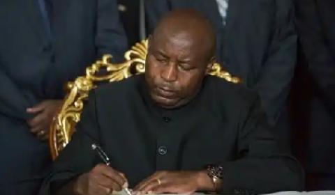 New Burundian president Ndayishimiye
