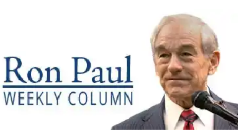 Ron Paul weekly column writer