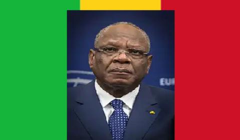 President Ibrahim Keita of Mali