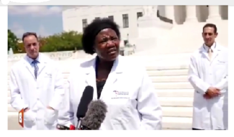 Dr Stella Immanuel of America's Frontline Doctors Group