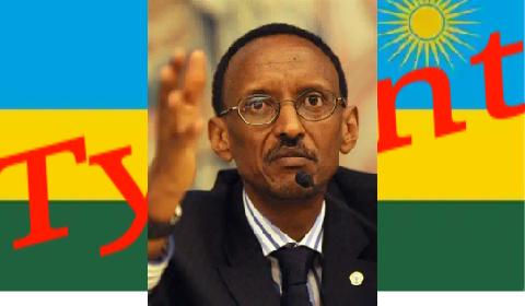 Rwanda tyrant Paul Kagame