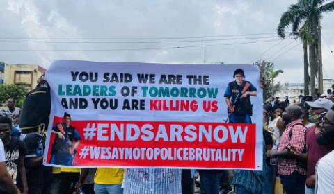 Nigeria End Police Brutality protests