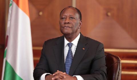 Quattara, Cote d'Ivoire president