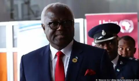 President Koroma of Sierra Leone