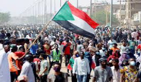 Sudan protests for democracy