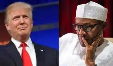 President's Trump and Buhari