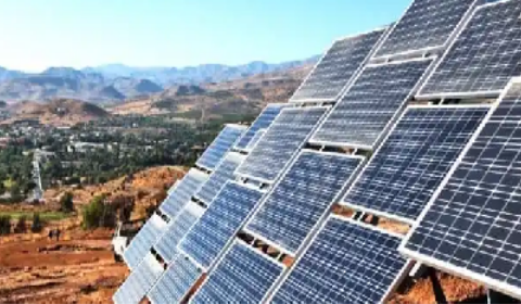 Africa low on solar energy